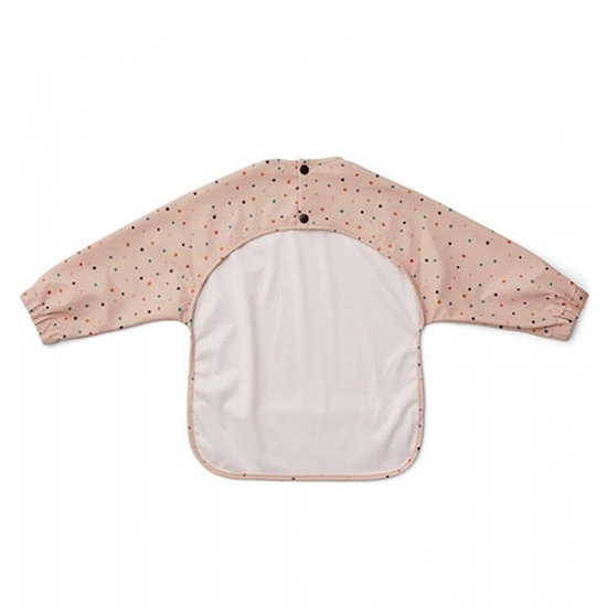 Liewood Baby bib with sleeves Merle Confetti mix - Liewood
