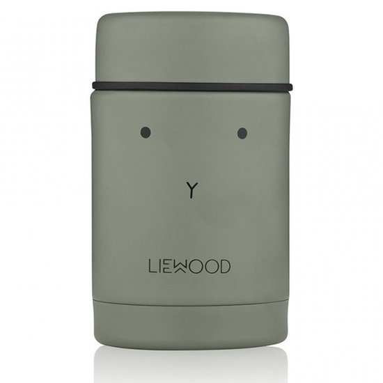 Liewood Liewood lunch box isotherme Nadja Rabbit faune green