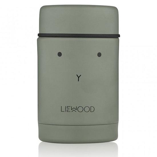 Liewood Liewood Nadja food jar Rabbit faune green
