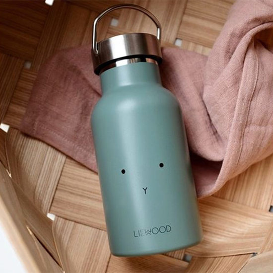 Liewood Liewood thermo drinkfles Anker Rabbit faune green