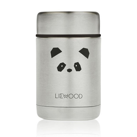 Liewood Liewood Thermobecher Nadja Panda stainless steel