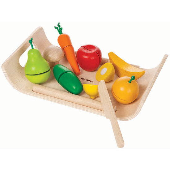 Plan Toys Wonky fruit and vegetables play set - Plan Toys