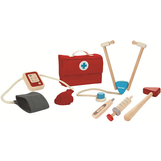 Plan Toys Plan Toys - dokterstas speelgoed - doktersset +3jr