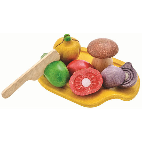 Plan Toys Groenten - speelgoed eten - Plan Toys +18M