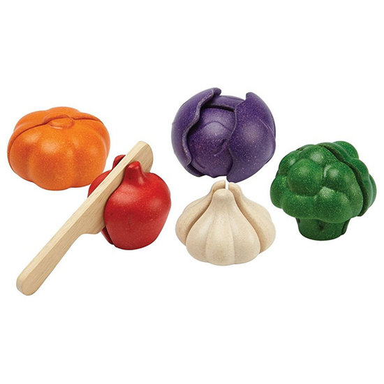Plan Toys Gemüse Set 5 Farben - Plan Toys +18 M