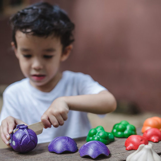 Plan Toys Vegetable set 5 colors toy food - Plan Toys +18 M