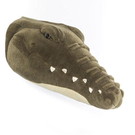 Bibib - Wild and Soft Dierenkop krokodil Frank Bibib - Wild and Soft