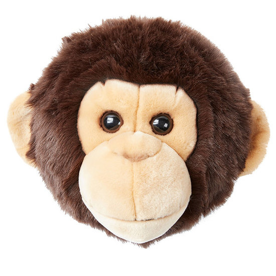 Bibib - Wild and Soft Animal head monkey Joe Bibib Wild and Soft