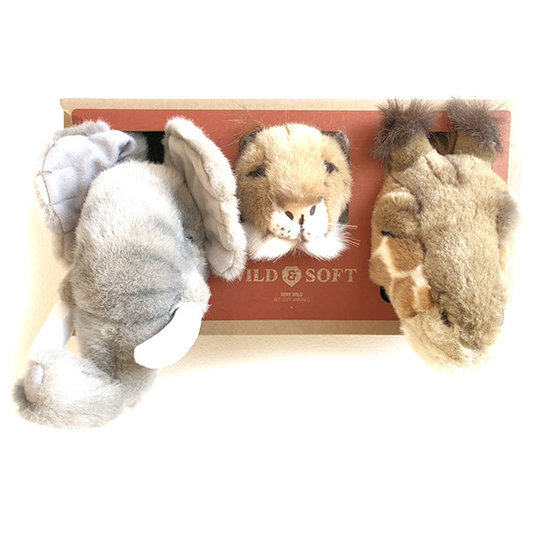 Bibib - Wild and Soft Animal heads Safari - Bibib - Wild and Soft