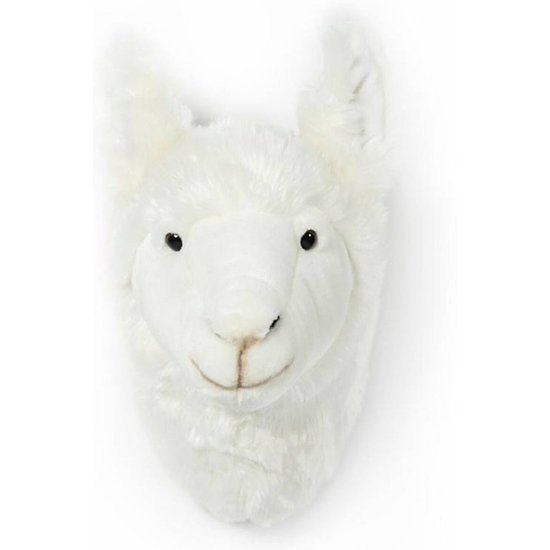 Bibib - Wild and Soft Dierenkop lama Lily Bibib - Wild and Soft