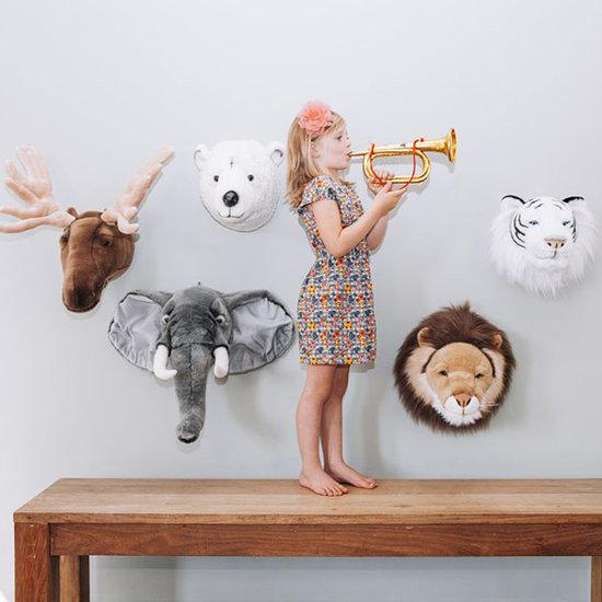Bibib - Wild and Soft Tierkopf Lama Lily Bibib - Wild and Soft