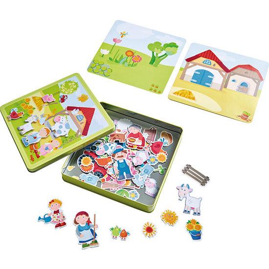 Haba Magnetspiel Peters und Paulines Bauernhof - Haba