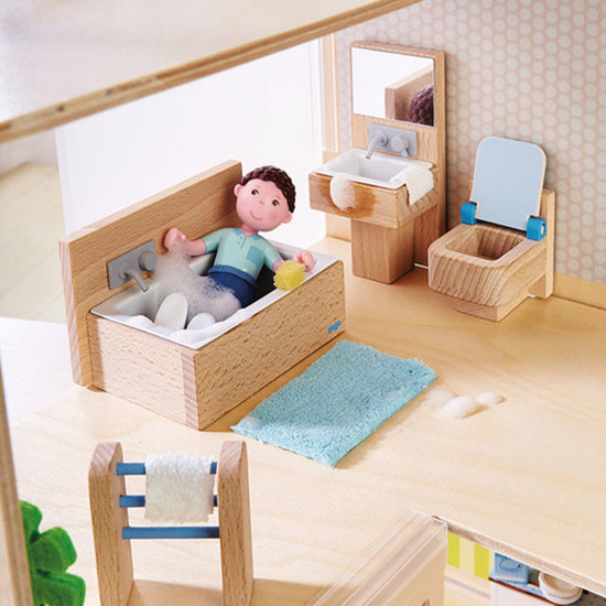Haba Dollhouse furniture - bathroom Little Friends Haba
