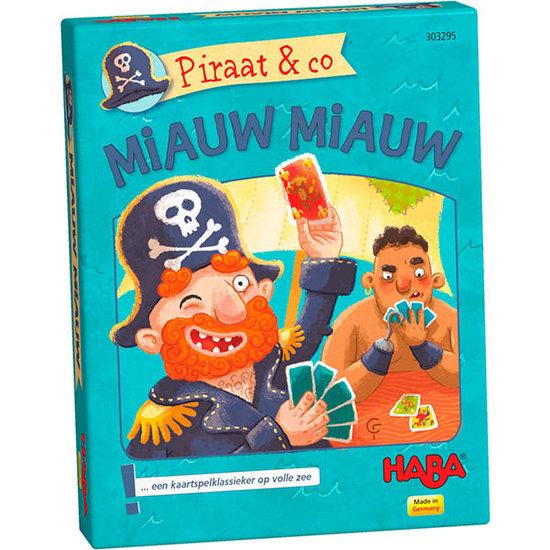 Haba Kaartspel Piraat en Co Miauw Miauw - Haba