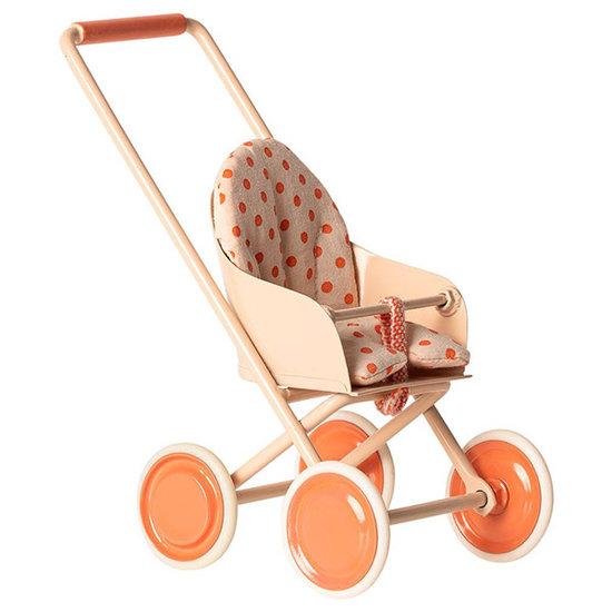 Maileg Maileg Kinderwagen Soft coral Micro