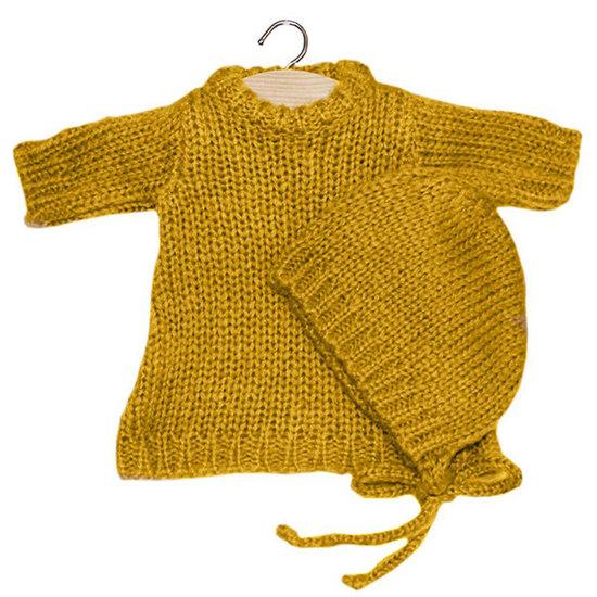 Minikane Doll dress set Gasparine Mustard - Minikane