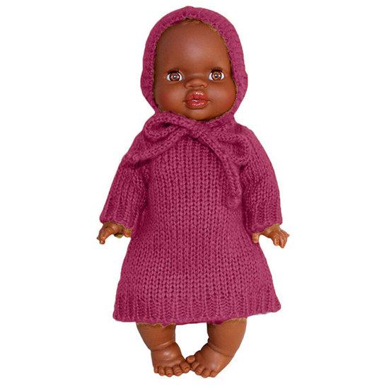 Minikane Puppenkleid Set Gasparine Prune - Minikane