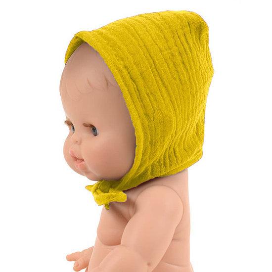 Minikane Puppenmütze mustard - Minikane