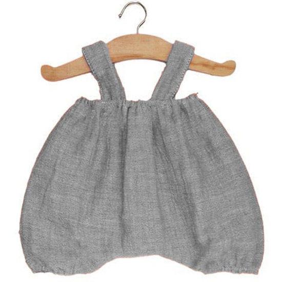 Minikane Doll clothes bloomer Kim grey - Minikane