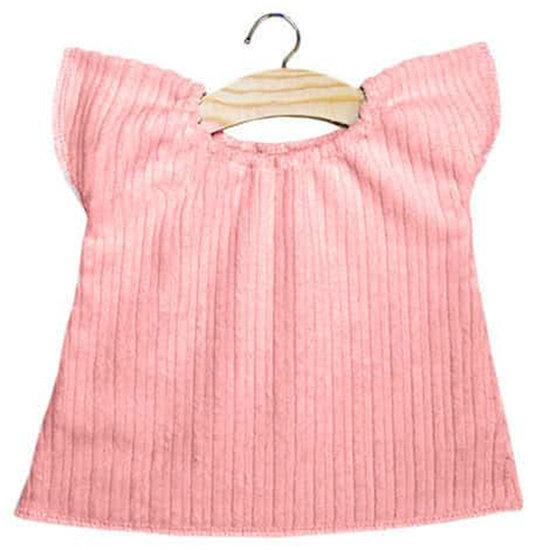 Minikane Doll dress Augustine velvet pink - Minikane