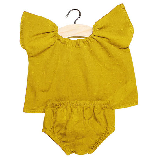 Minikane Puppenkleidung Set Goodnight Mustard - Minikane
