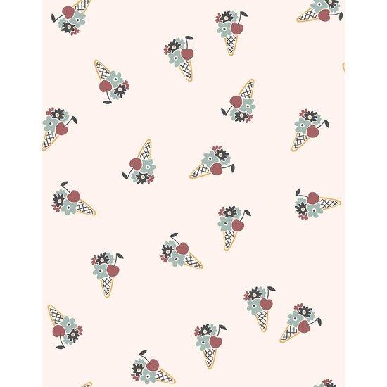 Minikane Puppenbuggy fleurs en cornet - Minikane