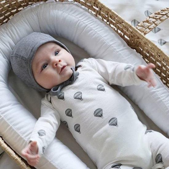 Konges Slojd Body long sleeve Newborn Parachute - Konges Sløjd