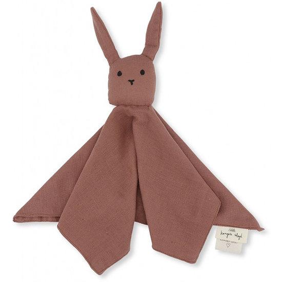 Konges Slojd Baby comforter Rabbit Cedar wood - Konges Sløjd