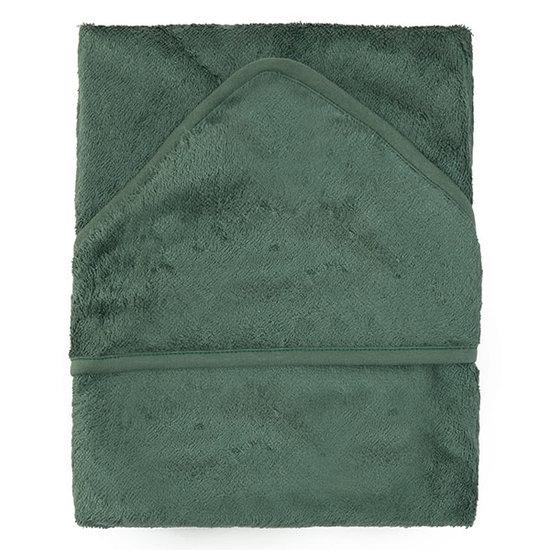 Timboo Bath cape Aspen green 74x74cm - Timboo