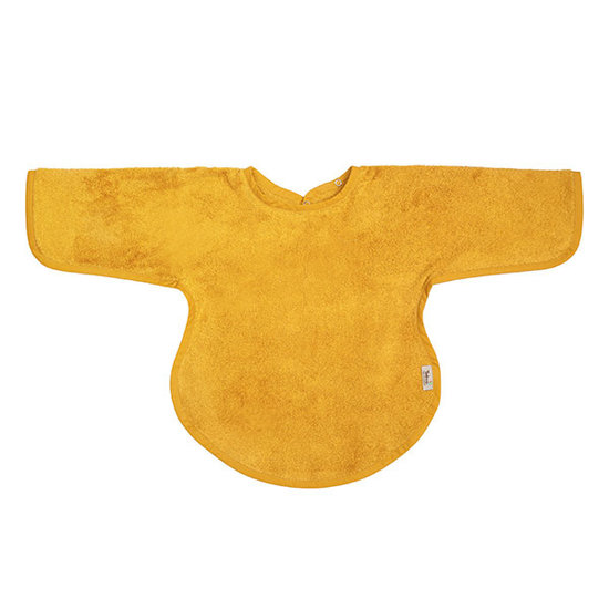Timboo Bib with sleeves Ocher 36x34cm - Timboo
