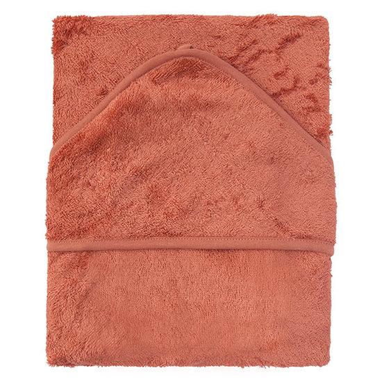 Timboo Bath cape XXL Apricot blush 95x95cm - Timboo