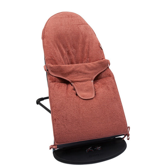 Timboo Babybjörn bouncer cover Apricot blush - Timboo