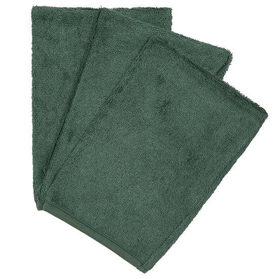 Timboo Washcloths Aspen green 3-pack - Timboo