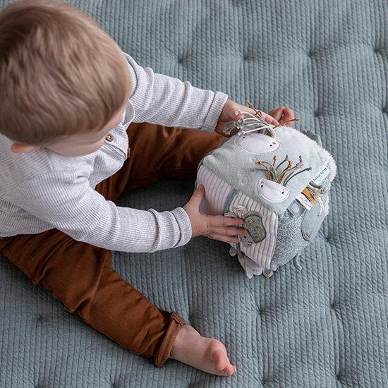 Little Dutch Activiteitenkubus Soft Ocean mint - Little Dutch