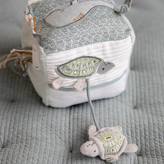 Little Dutch Aktivitätswürfel Soft Ocean mint - Little Dutch