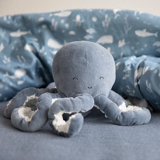 Little Dutch Knuffel octopus Ocean blue - Little Dutch
