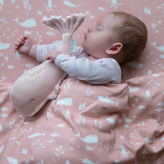 Little Dutch Soft toy whale 24cm Ocean pink - Little Dutch