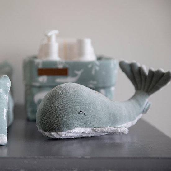 Little Dutch Knuffel walvis 35cm Ocean mint - Little Dutch