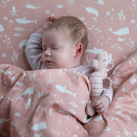 Little Dutch Rassel Seepferdchen Ocean Pink - Little Dutch