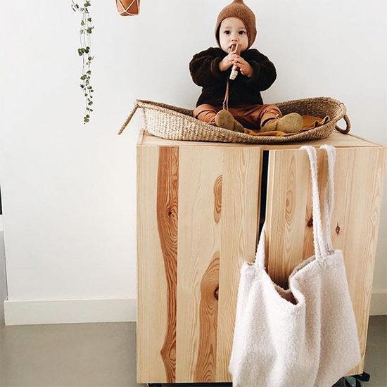 Studio Noos Studio Noos Mom-bag Chunky teddy beige