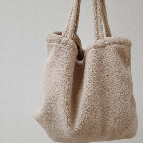 Studio Noos Studio Noos Tasche Mom-bag Chunky Teddy Beige