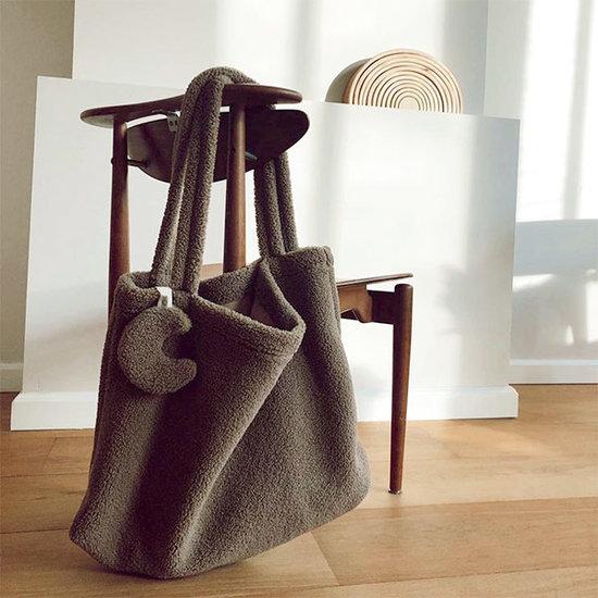 Studio Noos Studio Noos Mom-bag Chunky teddy brown