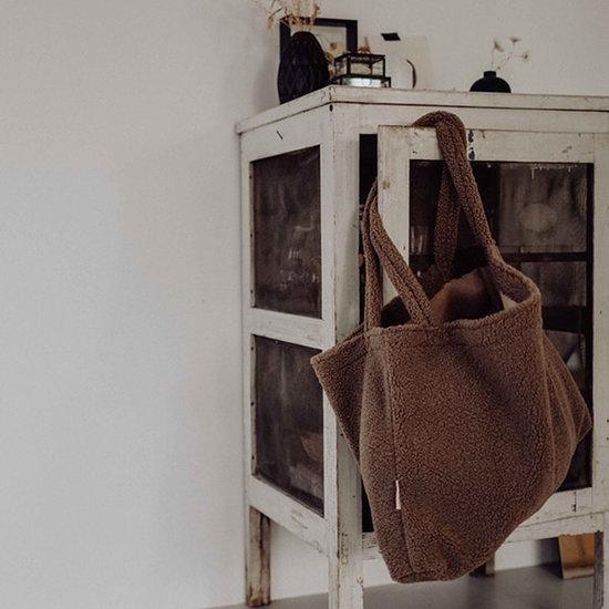 Studio Noos Studio Noos tas Mom-bag Chunky teddy brown