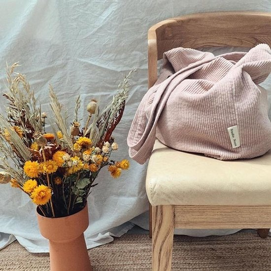 Studio Noos Studio Noos Tasche Mom-bag Pink rib