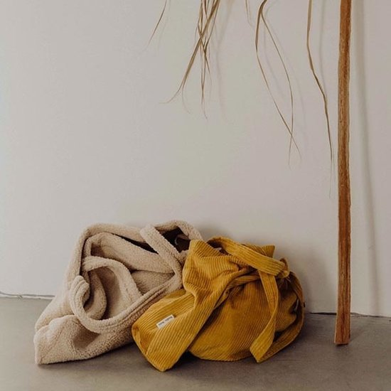 Studio Noos Studio Noos Tasche Mom-bag Canary rib