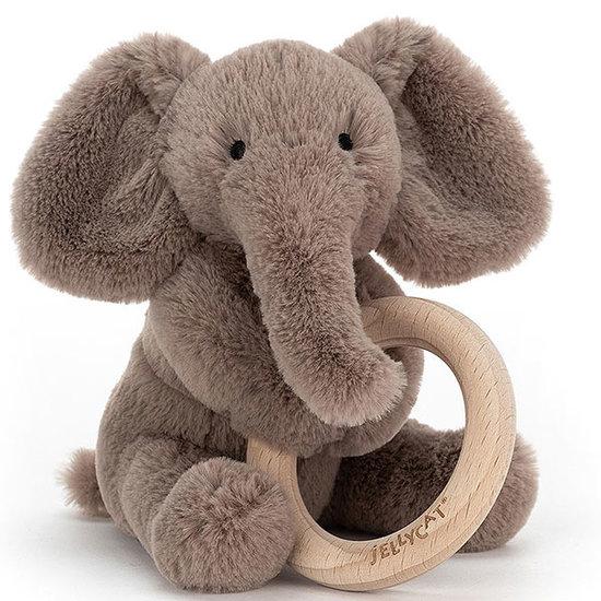 Jellycat Beißring - Rassel Shooshu Elephant - Jellycat