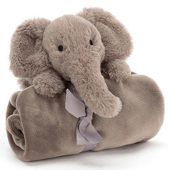 Jellycat Knuffeldoekje Shooshu Elephant - Jellycat