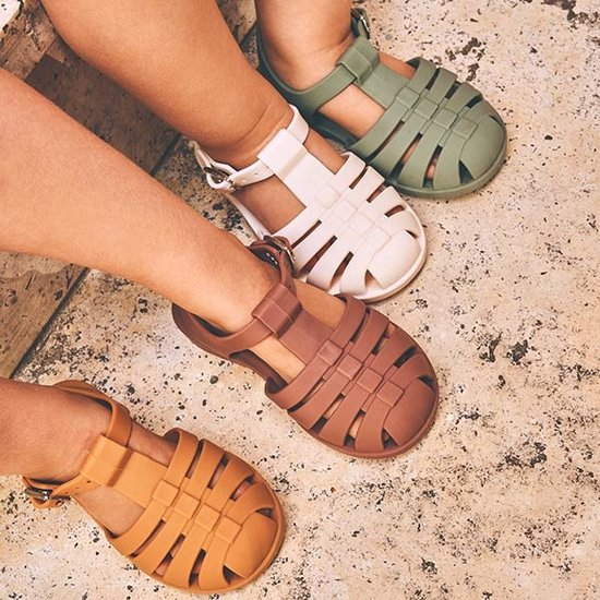 Liewood Water shoes Bre sandals Faune green - Liewood