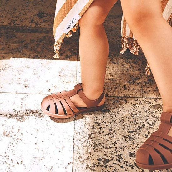 Liewood Water shoes Bre sandals Dark Rose - Liewood