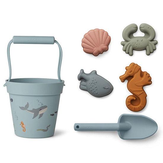 Liewood Liewood Dante beach toys Sea creature mix